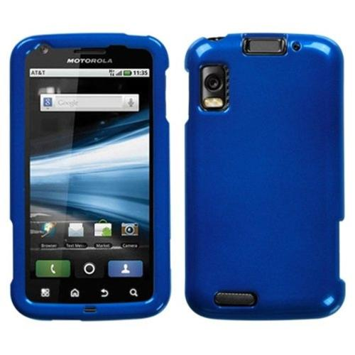 Insten Solid Dark Blue Phone Case for MOTOROLA: MB860 (Olympus/Atrix 4G)