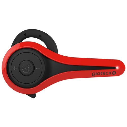 Ps4 Lp-1 Bluetooth Chat Headset Red [works With Ps3/pc/mac/mobile] (Gioteck)
