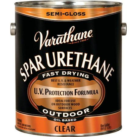 Varathane 9432 1 Gallon - Semi Gloss Classic Clear Oil Based Outdoor Spar Urethane 350