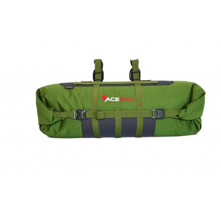 Roll Bar Lights (AcePac Bar Roll Handlebar Bag - Green 16L)