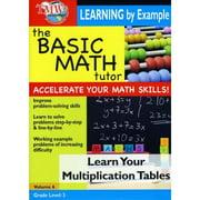 Basic Math Tutor: Learn Your Multiplication Tables by
