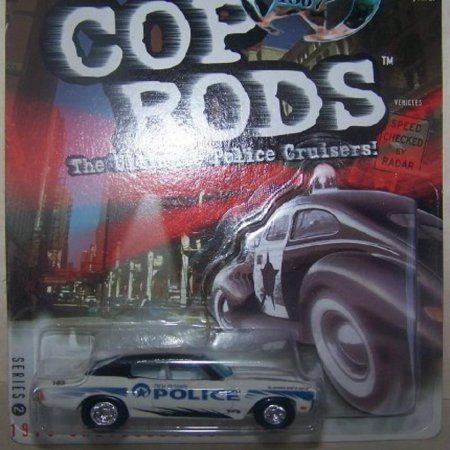 1999 Hot Wheels Cop Rods Series 2 1970 Chevelle Ss New Orleans, La Police Dept Logos by Mattel