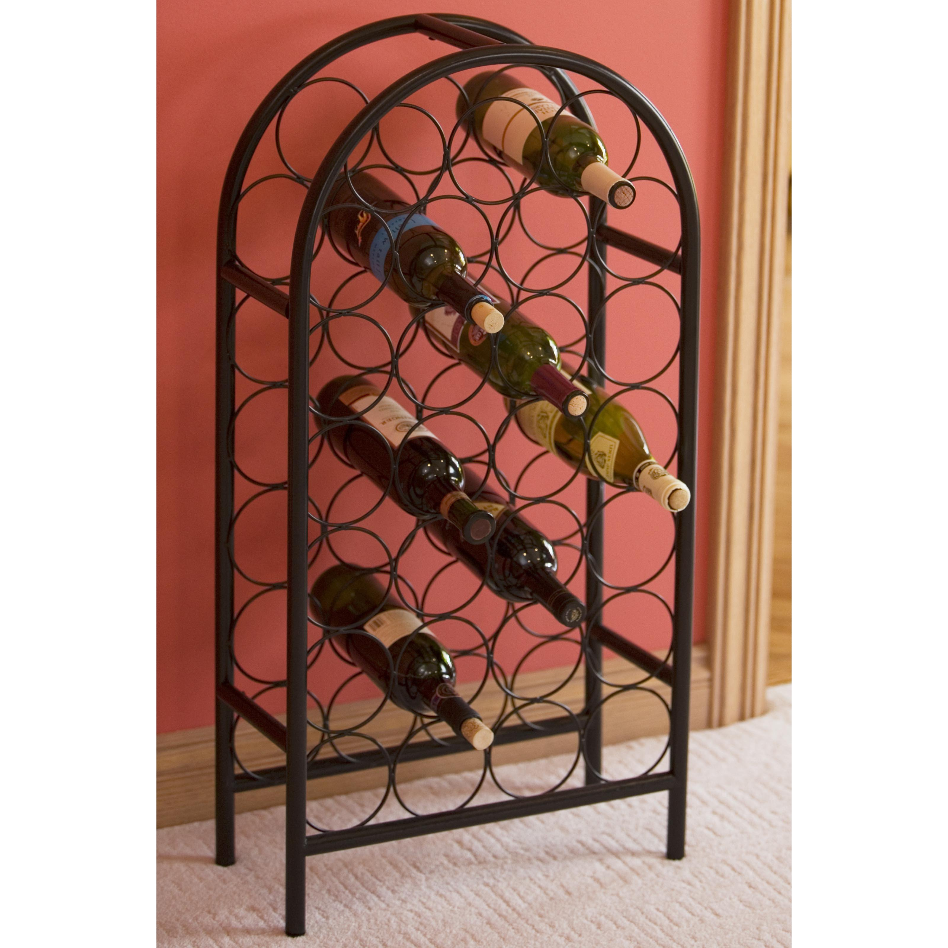 Click here to buy Old Dutch 27-Bottle Classic Floor Standing Wine Rack by Old Dutch International Ltd.