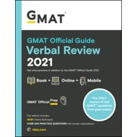 GMAT Official Guide Verbal Review 2021, Book + Online Question Bank (Paperback)