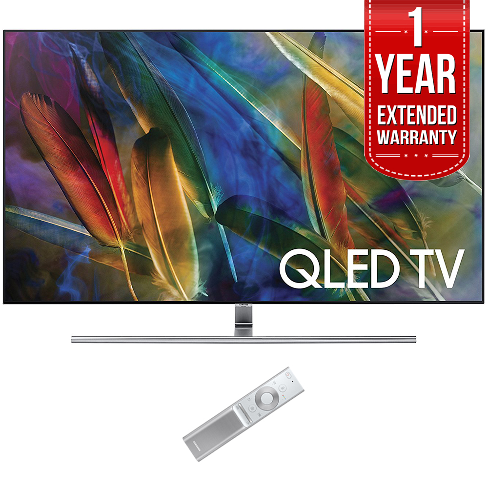 Samsung QN55Q7F 55-Inch 4K Ultra HD Smart QLED TV (2017 Model) with 1 Year Extended Warranty by Samsung
