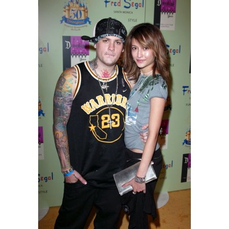 Benji From Good Charlotte And Guest At Arrivals For Disney Vintage By Jackie Brander Celebrates 50Th Anniversary Fred Segal Santa Monica Ca July 13 2005 Photo By Jeremy MontemagniEverett Collection Ce