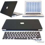 Apple Macbook Air 13 Inch Case Model A1369 & A1466 - DigitalsOnDemand Rubberized Hard Shell Laptop Case Cover with Free Keyboard Cover