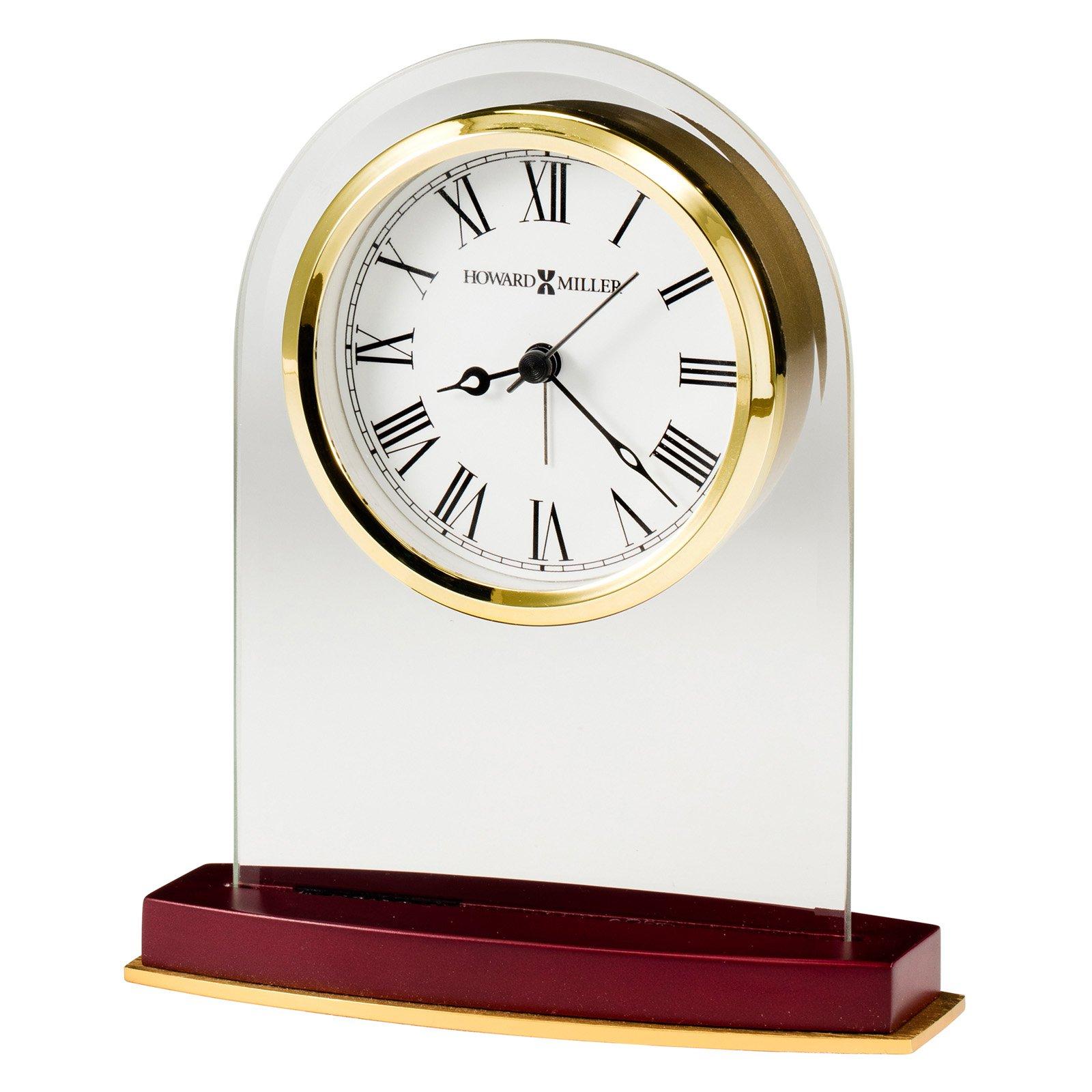 Howard Miller 5.5 in. Anson Desk Clock by Howard Miller