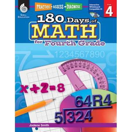 180 Days of Math for Fourth Grade (Grade 4) : Practice, Assess, (End Of The Year Math Review 4th Grade)