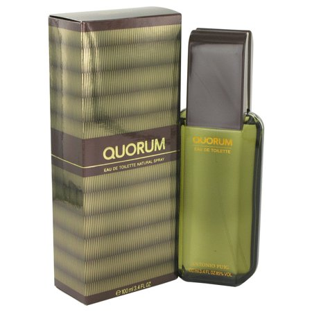 Antonio Puig Quorum 1.7 oz EDT spray Mens Cologne 50 ml NIB Black Cologne Edt Spray
