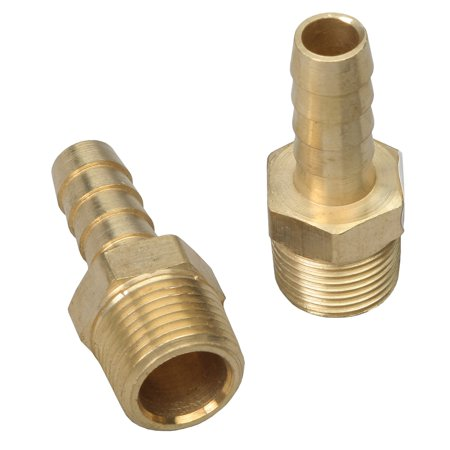 Trans-Dapt 2270 TDP2270 FUEL HOSE FITTING 3/8 STRT