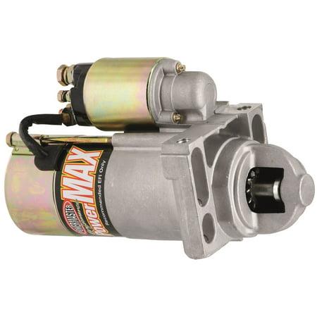 Powermaster 9201 PowerMax Starter; Chevy/Pontiac LS Engines; Chevy/GMC LS; 168 Tooth Flywheel; Chrome;