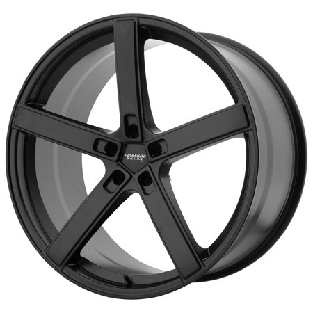 American Racing AR920 Blockhead 22x9 5x115 +20mm Satin Black Wheel Rim 22
