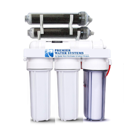 PREMIER 6 Stage RODI Aquarium Reef Reverse Osmosis DI Water Filter