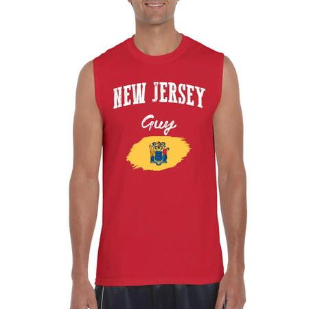 New Jersey Guy Men Ultra Cotton Sleeveless T-Shirt