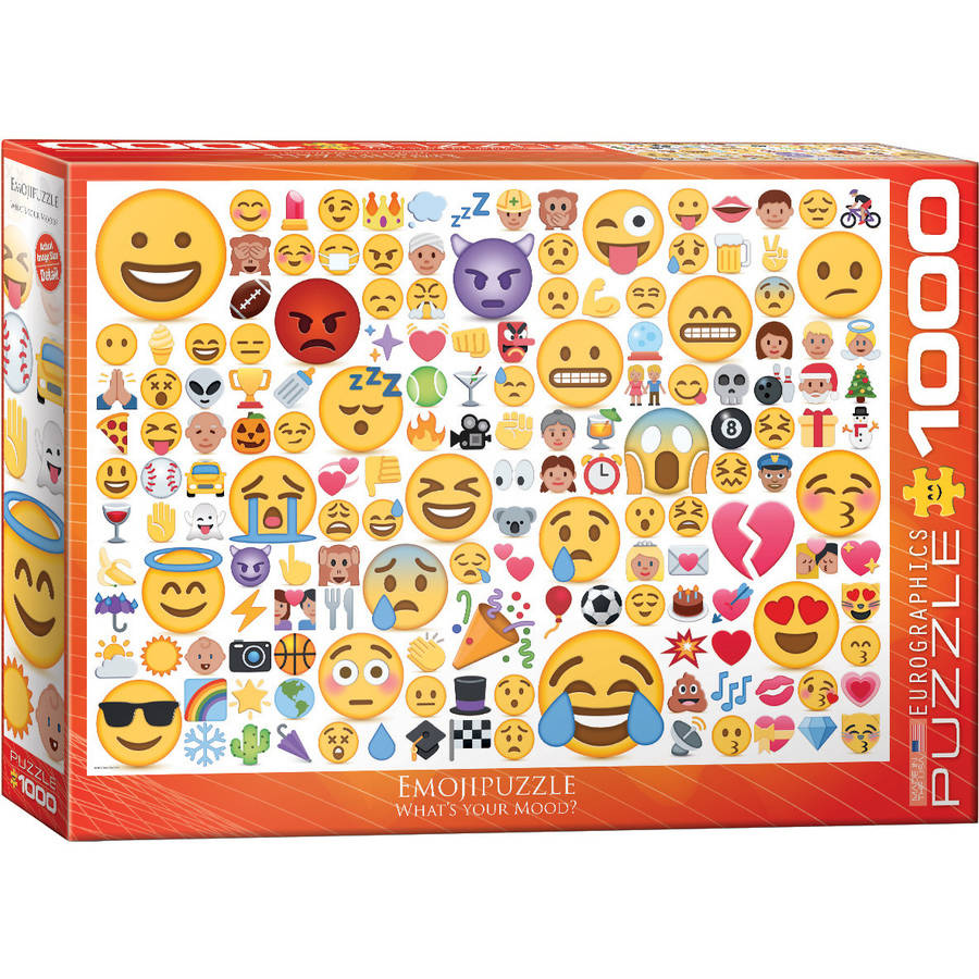Emojipuzzle 1000-Piece Puzzle by EuroGraphics