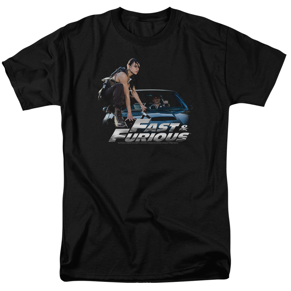 The Fast and the Furious Car Ride Mens Short Sleeve Shirt