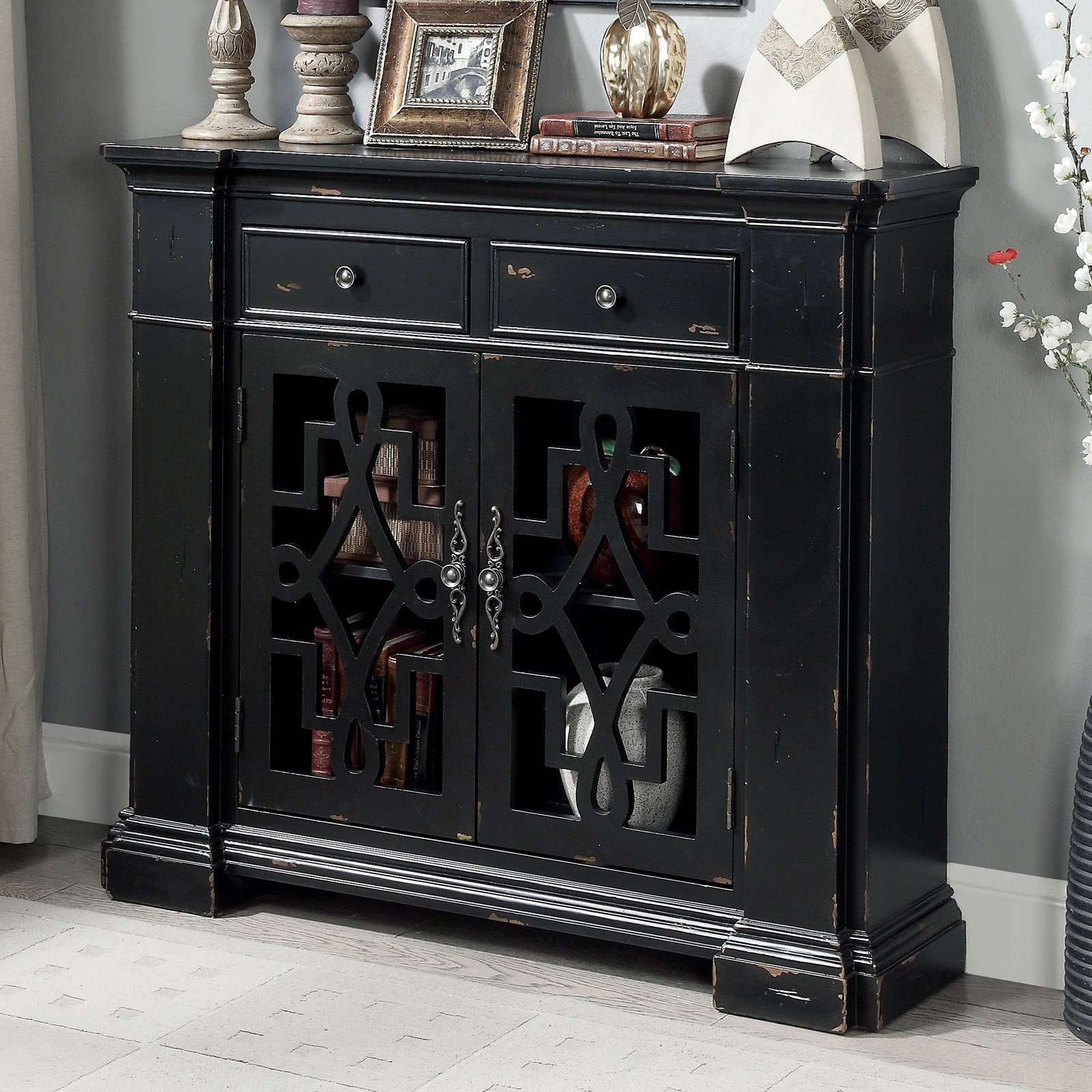 Superieur Furniture Of America Cristiano Vintage Entryway Cabinet