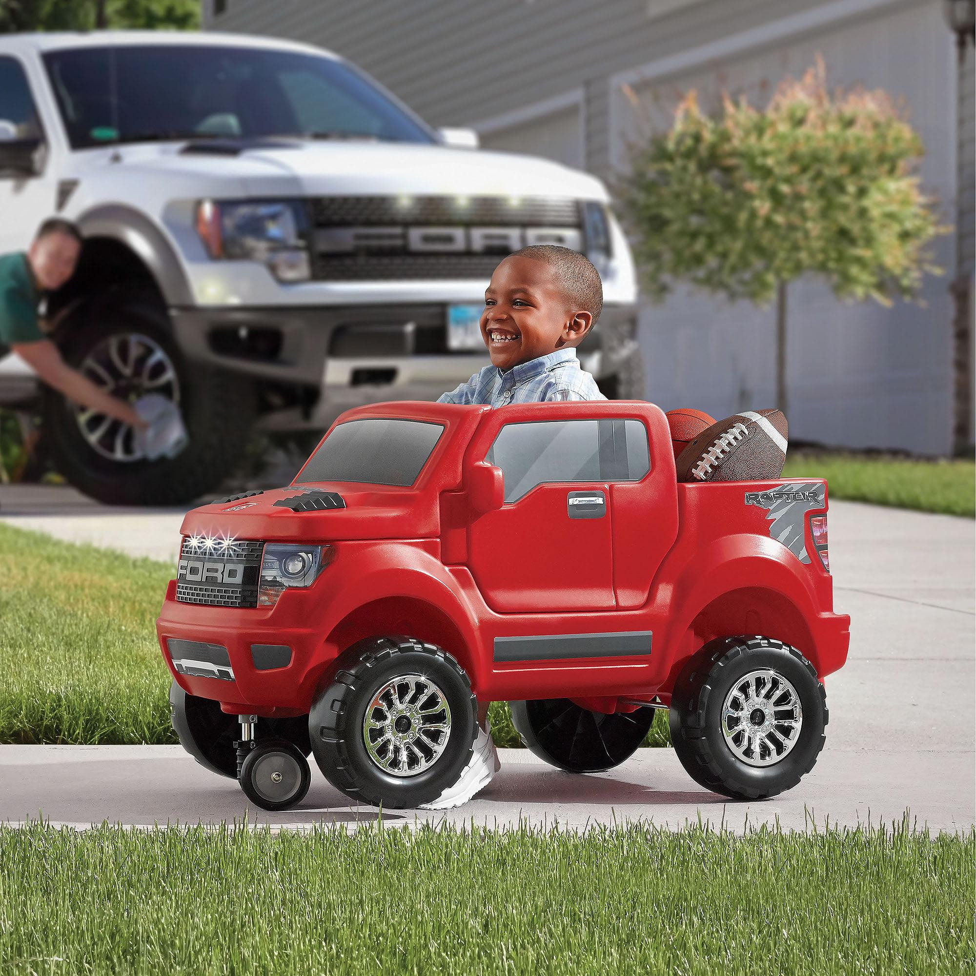 Step2 Ford F 150 Svt Raptor Red Ride On Truck Push Car Walmart Com