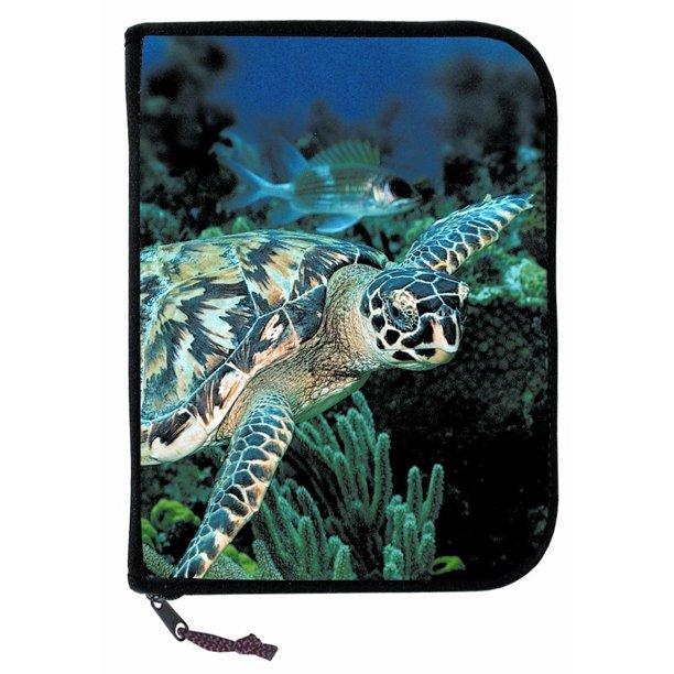 Log Book Binder Scuba Diving Turtle