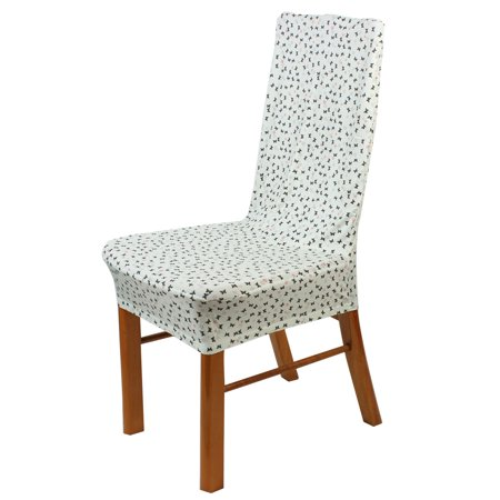 unique bargains butterfly pattern stretch chair protector