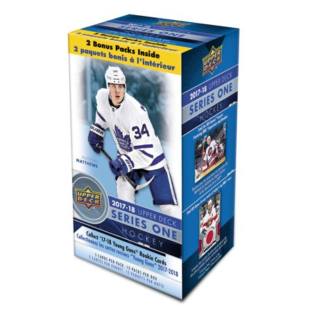 Fanatics Authentic 2017-18 Upper Deck Hockey Series 1 Factory Sealed 12 Pack Box - No Size