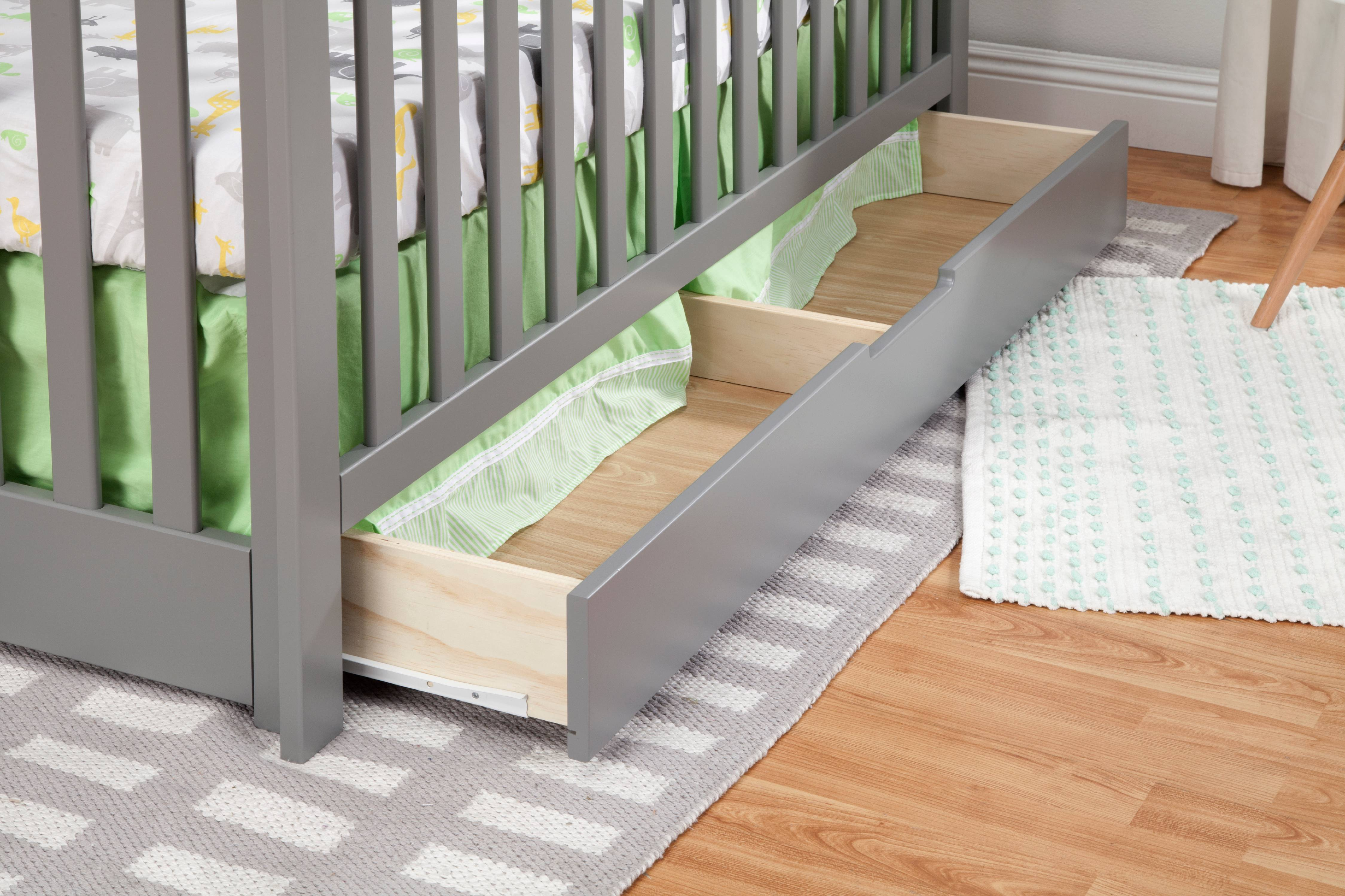 Carter S By Davinci Colby 4 In 1 Convertible Crib With Trundle Drawer In White Walmart Com Walmart Com