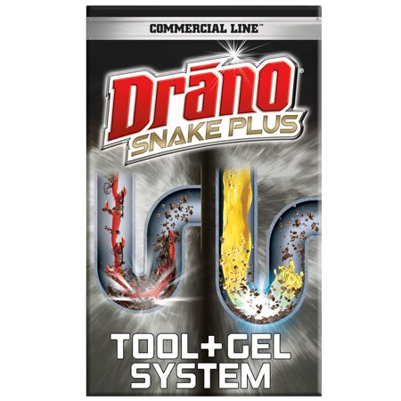 Drano Snake Plus Tool + Gel System, Commercial
