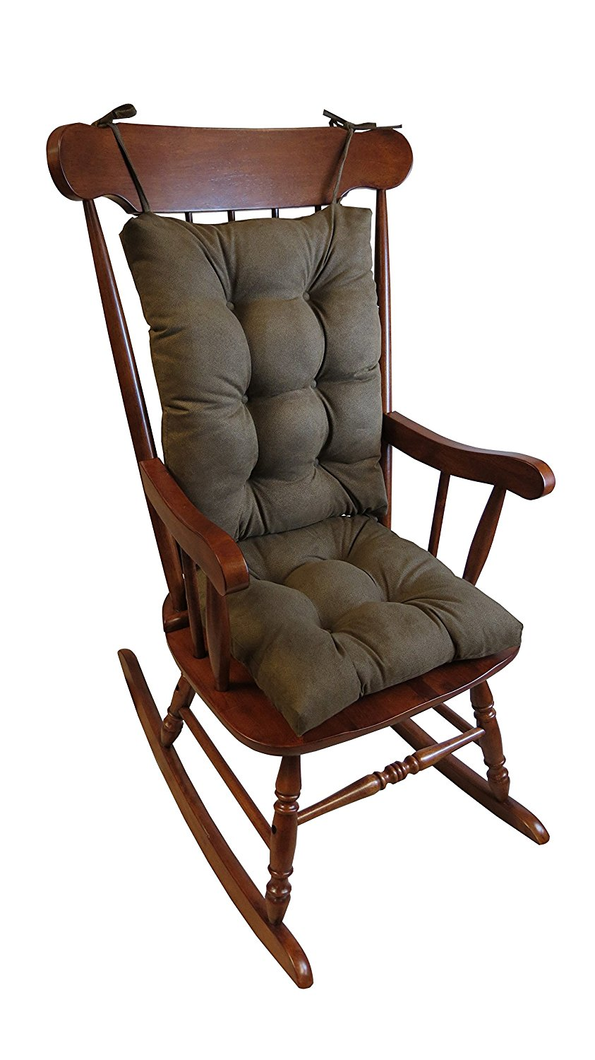 Delicieux The Gripper Non Slip Rocking Chair Cushion Set Honeycomb, X Large,  Chocolate   Walmart.com
