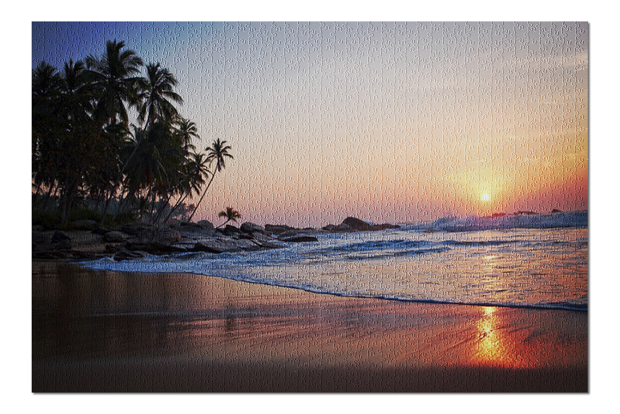 Brand New /& Sealed 500 Pieces Jigsaw Puzzle Beach Sunset