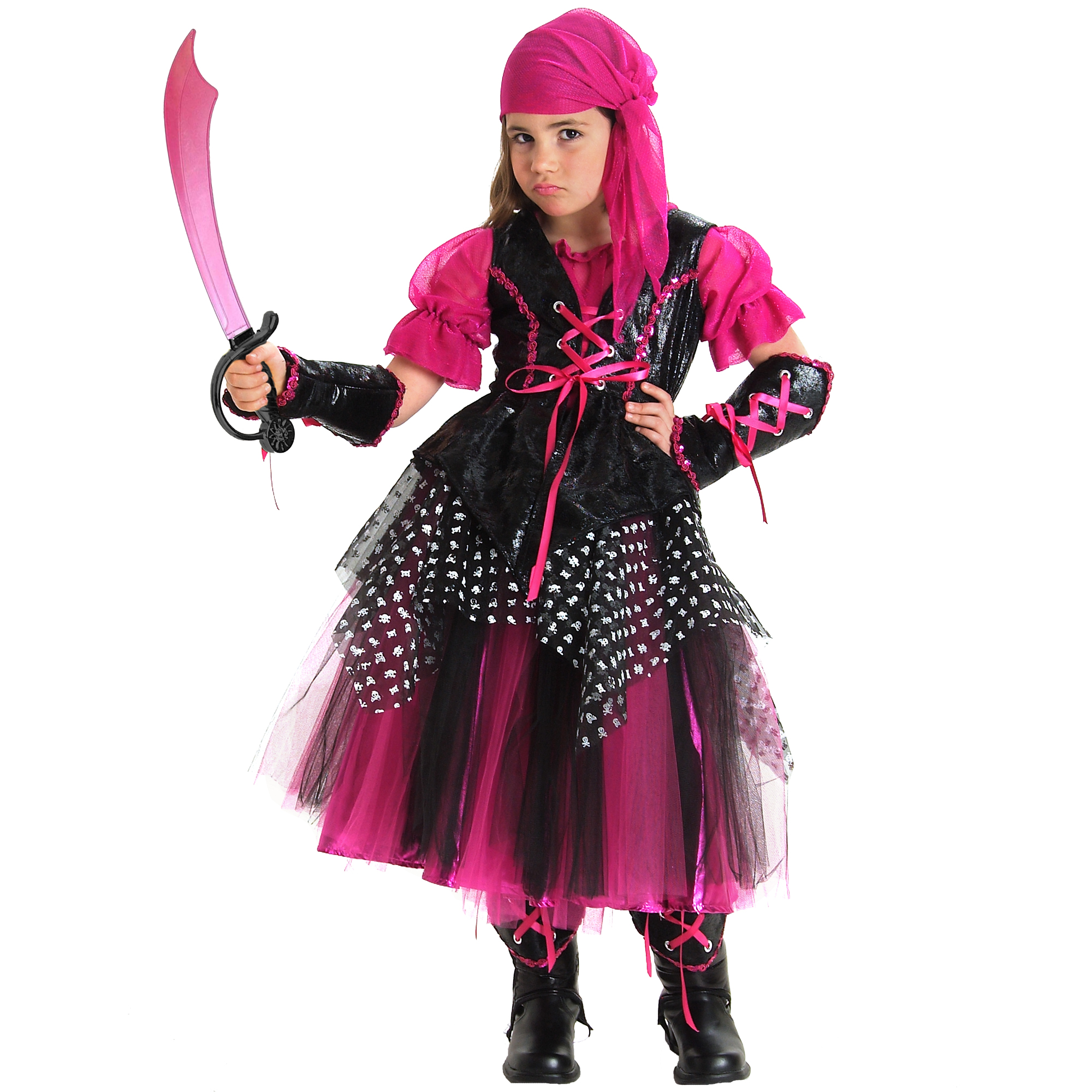 Caribbean Pirate Halloween Costume by Princess Paradise