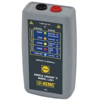 AEMC L261 Voltage Data Logger,0 to 600VAC/DC