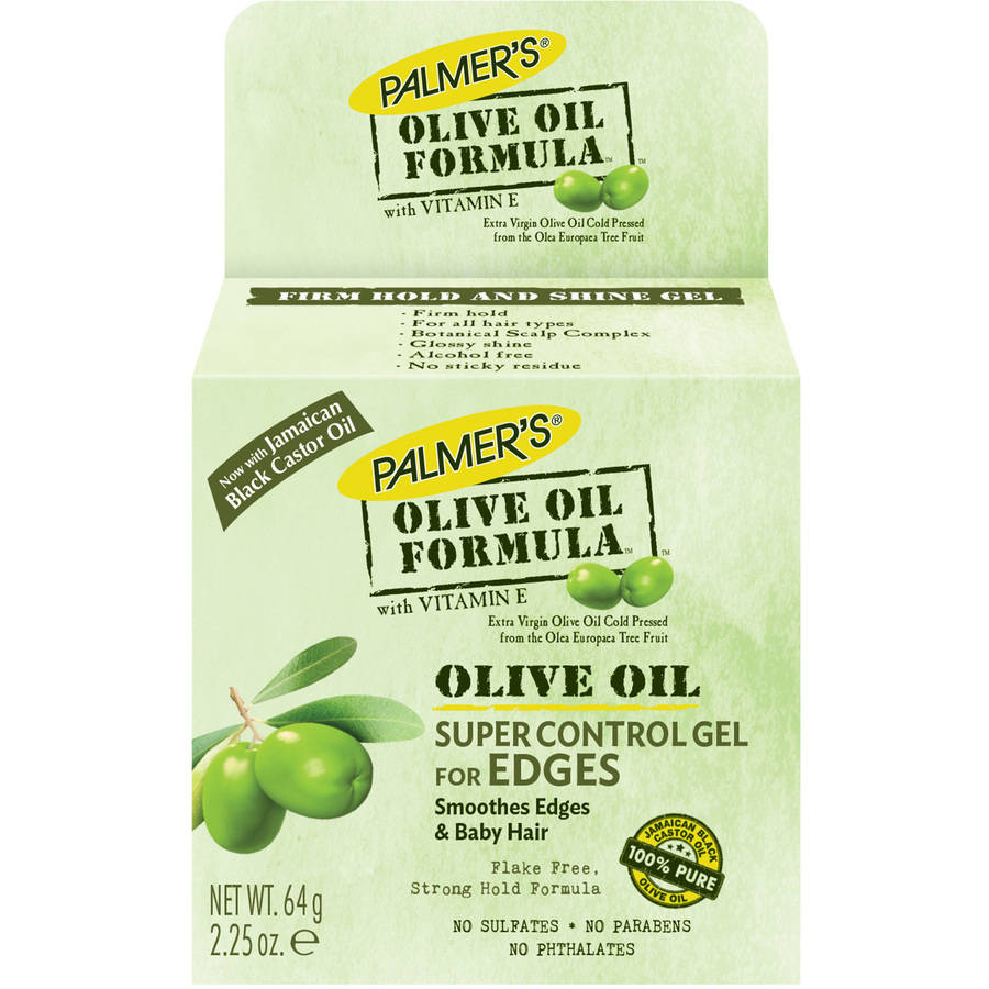 Palmer's Olive Oil Formula Super Control Edge Hold Hair Gel with Vitamin E, 2.25 oz