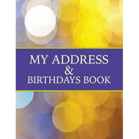 My Address   Birthdays Book