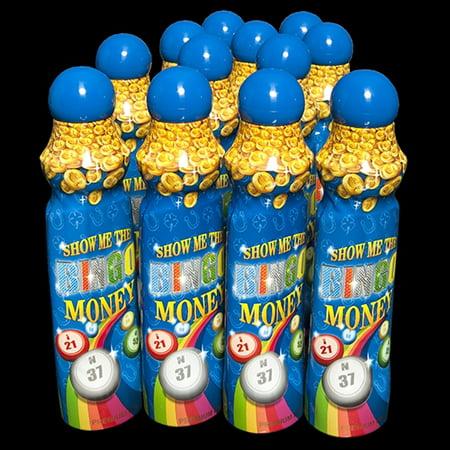 Show Me The Bingo Money Daubers - Blue - 12 per pack (Mes Halloween Bingo)
