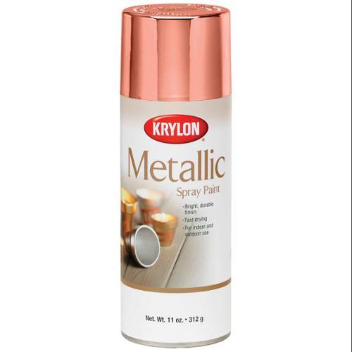 Metallic Spray Paint 12 Ounces-Copper