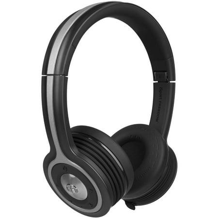 Monster iSport Freedom Bluetooth Wireless On-Ear Headphones by
