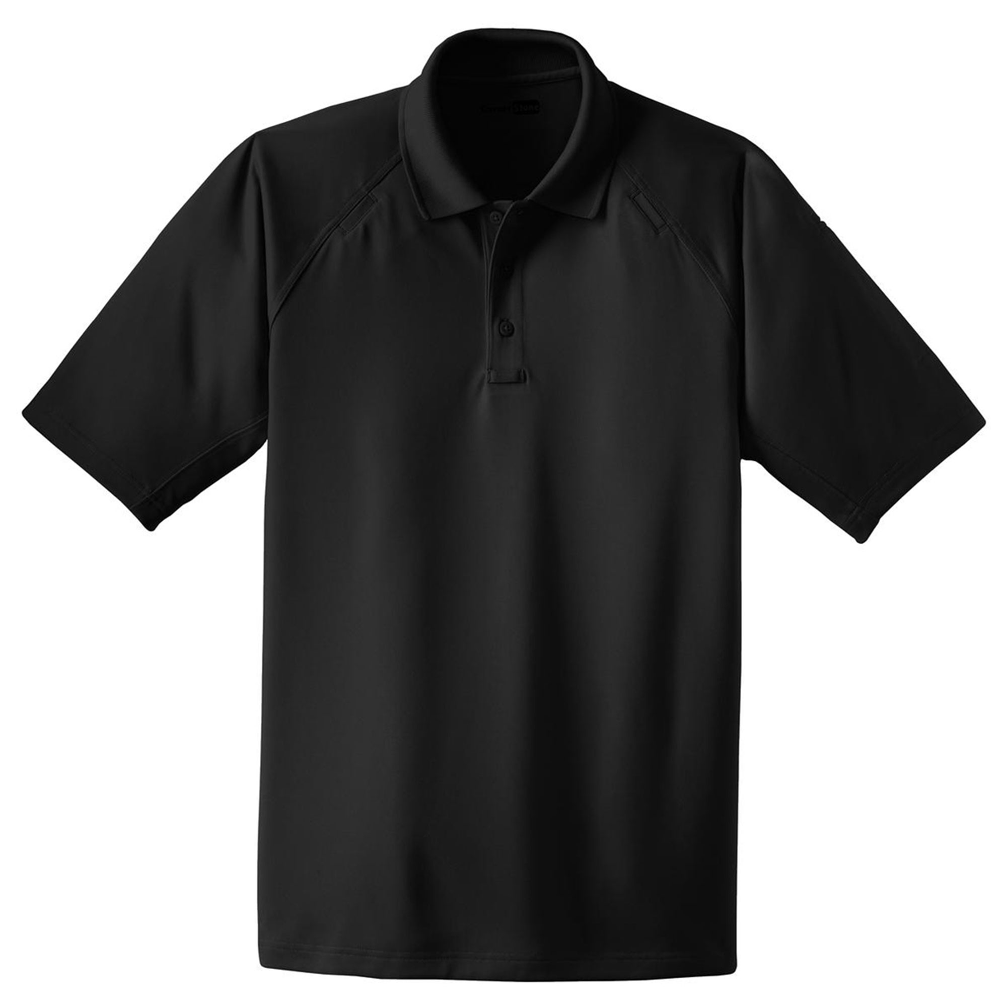 Cornerstone Men's Big And Tall Knit Collar Tactical Polo Shirt