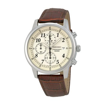 Seiko Chronograph Beige Men's Watch