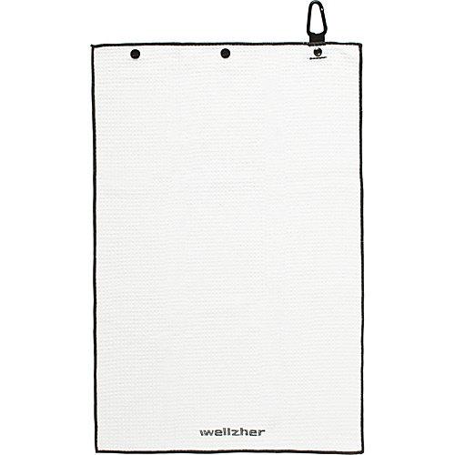 Wellzher Premium Microfiber Dual-action Golf Towel & Retractable Golf Ball Towel