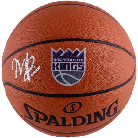 - Marvin Bagley III Sacramento Kings Autographed Spalding Logo Basketball - Fanatics Authentic Certified