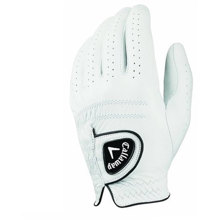 Callaway Mens Tour Authentic Golf Gloves Regular Large Left