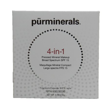 Pur Minerals 4-in-1 Pressed Mineral Makeup SPF 15 Blush Medium 0.28 Ounce