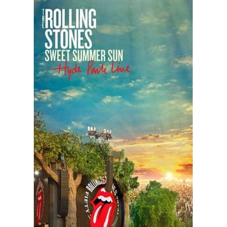 ROLLING STONES-SWEET SUMMER SUN-HYDE PARK LIVE (DVD W/CD)