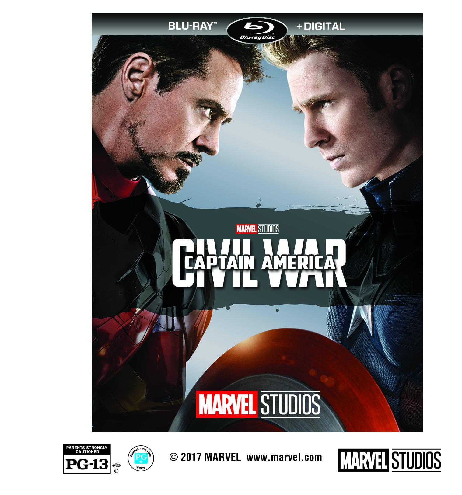 Captain America: Civil War (Blu-ray + Digital) by
