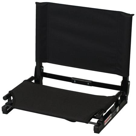 Clemson Tigers Stadium Cushion - Gamechanger™ Stadium Chair - Black
