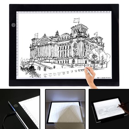 Ultra-Thin A3 LED Pad Table Tracing Board Light Box Pad Table Stencil Artist