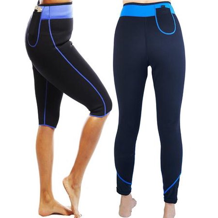 Anti Cellulite Weight Loss Workout Exercise Fitness Hot Slimming Sweat Sauna Long Pants.