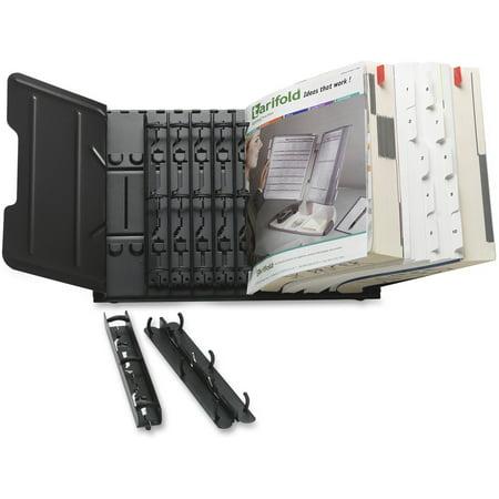 - Tarifold, TFI50411, 12-Section Catalog Rack Starter Set, 1 Each, Black