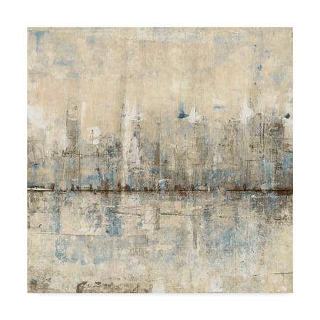 Trademark Fine Art 'Impressionist Skyline I' Canvas Art by Tim OToole
